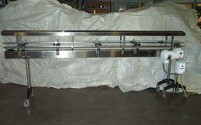 Stainless Steel Conveyor Cover